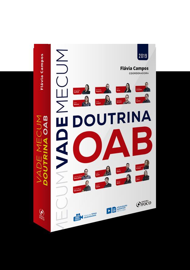VADE MECUM DE DOUTRINA DA OAB - 1ª ED - 2019