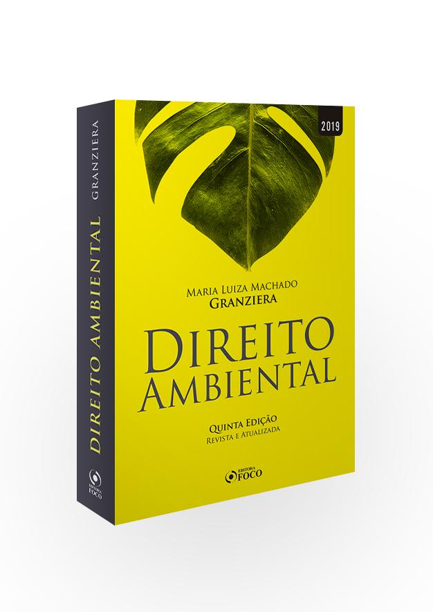 DIREITO AMBIENTAL - 5ª EDIÇÃO - 2019