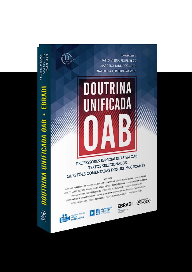 DOUTRINA UNIFICADA OAB - EBRADI - 2º SEMESTRE - 2018