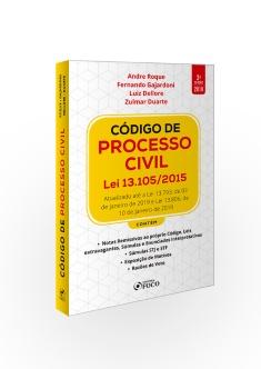 CÓDIGO DE PROCESSO CIVIL : LEI 13.105/2015  3ª ED - 2019
