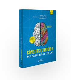 CONCURSOS JURÍDICOS MAPAMENTALIZADOS - 1ª ED - 2019