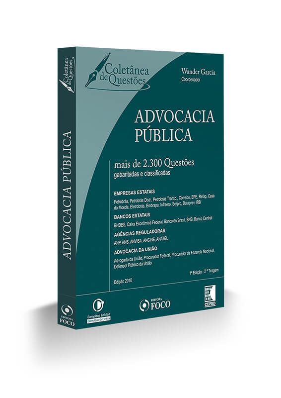 ADVOCACIA PUBLICA - 2.300 QUESTOES