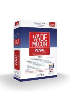 VADE MECUM DE LEGISLAÇÃO - PENAL - 1ª ED - 2016 + BRINDE MINI VADE MECUM JURISP. PENAL  2016