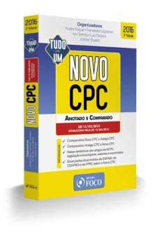 NOVO CPC-ANOTADO E COMPARADO-LEI 13.256/2016-2ª ED - 2016