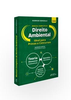 MANUAL COMPLETO DE DIREITO AMBIENTAL - 1ª ED - 2019
