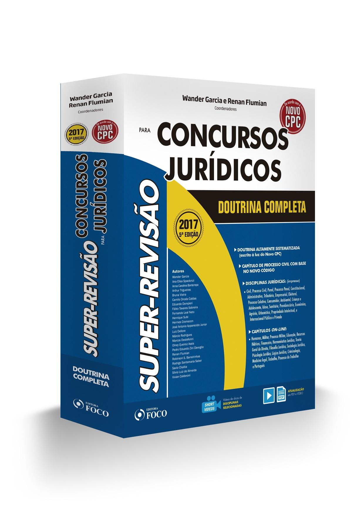 SUPER REVISAO PARA CONCURSOS JURIDICOS - DOUTRINA COMPLETA - 5ª ED - 2017