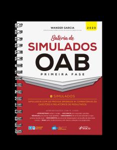 BATERIA DE SIMULADOS OAB 1ª FASE - 1ª ED - 2020