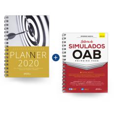 Combo Bateria de Simulados OAB e Planner 2020