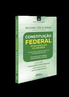 CONSTITUIÇÃO FEDERAL - 6ª ED - 2021