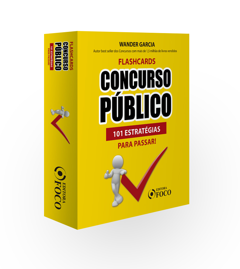 FLASHCARDS CONCURSO PÚBLICO : 101 ESTRATÉGIAS PARA PASSAR - 1ª ED - 2020