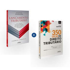 Combo Lançamento Tributário e 350 Dicas de Direito Tributário