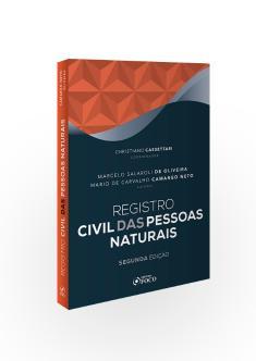 REGISTRO CIVIL DE PESSOAS NATURAIS  - 2ª ED - 2020