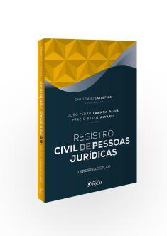 REGISTRO CIVIL DE PESSOAS JURÍDICAS - 3ª ED - 2020