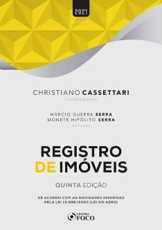 REGISTRO DE IMÓVEIS - 5ª ED - 2021