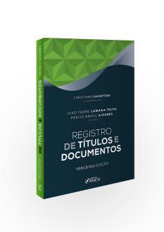 REGISTRO DE TÍTULOS E DOCUMENTOS - 3ª ED - 2020