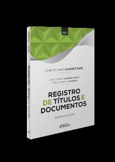 REGISTRO DE TÍTULOS E DOCUMENTOS - 5ª ED - 2021