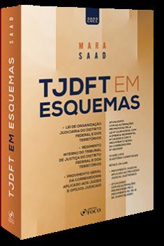 TJDFT EM ESQUEMAS - 3ª ED - 2022