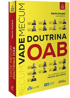 VADE MECUM DE DOUTRINA DA OAB - 4ª ED - 2021