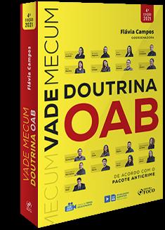 COMBO VADE MECUM DE DOUTRINA DA OAB - VADE MECUM DA BANCA OAB / FGV - 2021