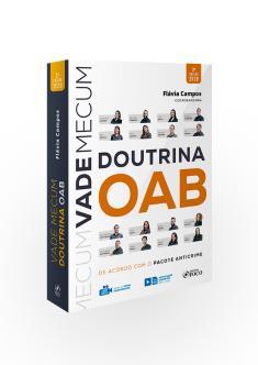 VADE MECUM DE DOUTRINA DA OAB - 3ª ED - 2020
